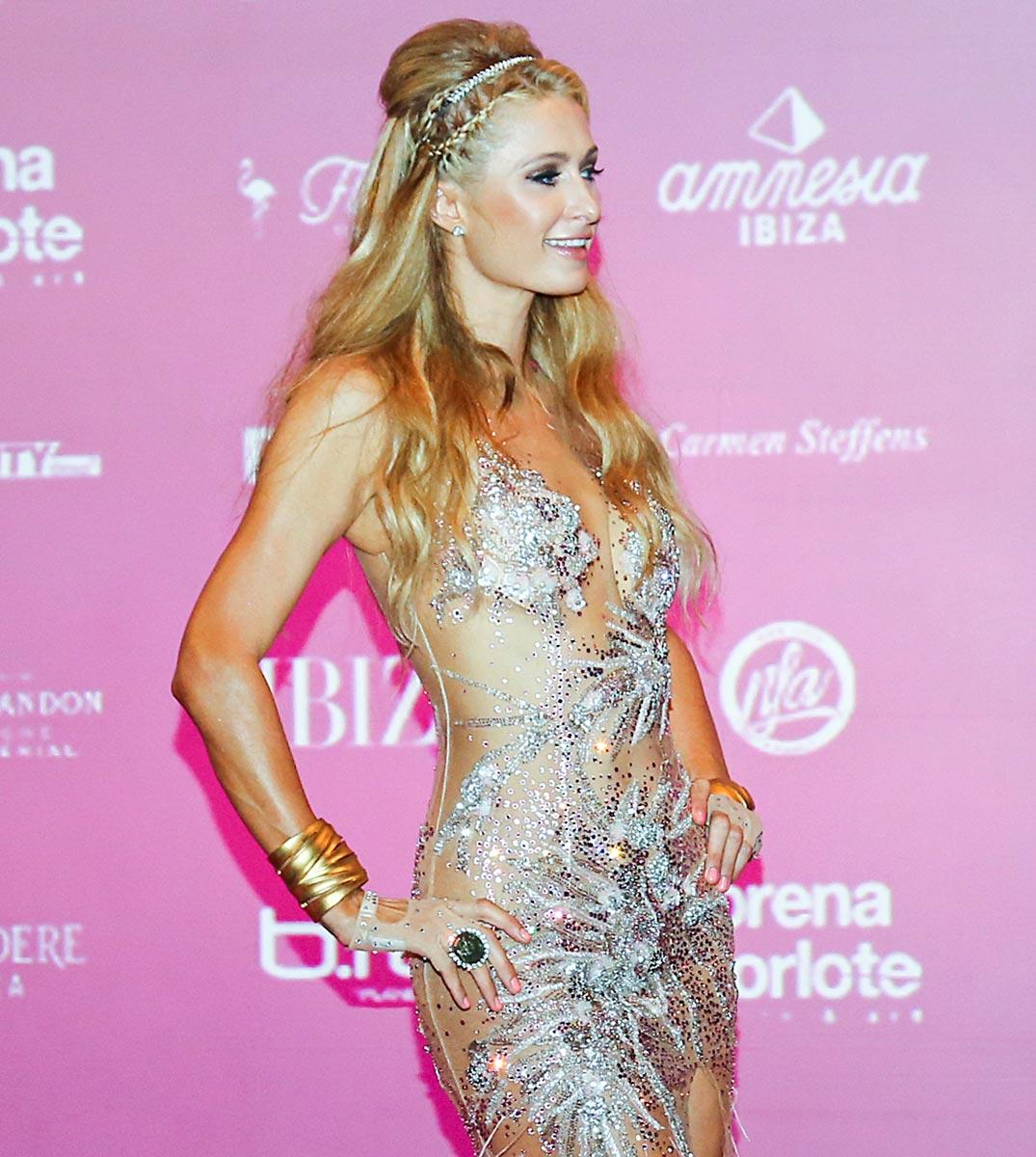 Paris Hilton - Foam and Diamonds opening