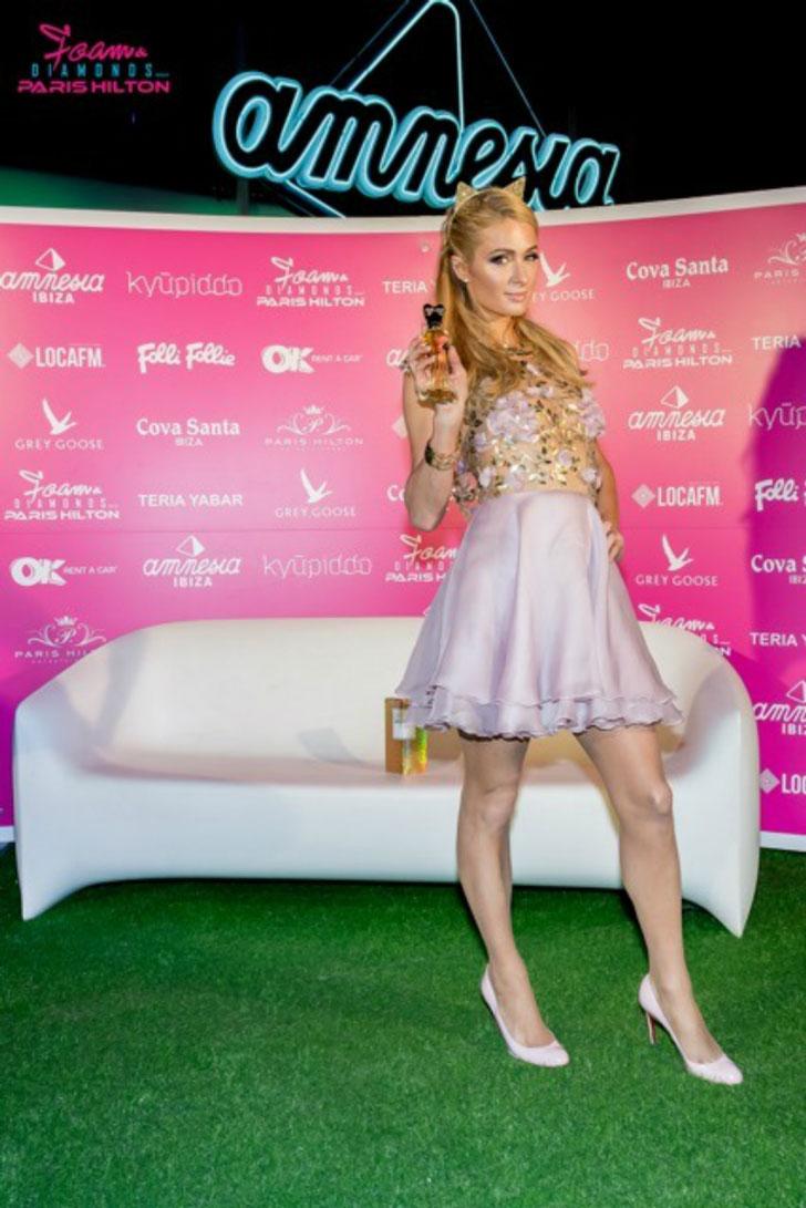Paris Hilton - Foam and Diamonds